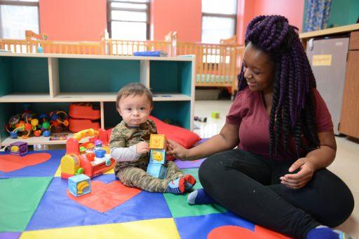 Ebenezer Child Care Southside Milwaukee Center Infant Room