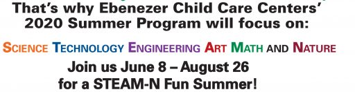 STEAM-N Summer Program June 8 - August 26, 2020