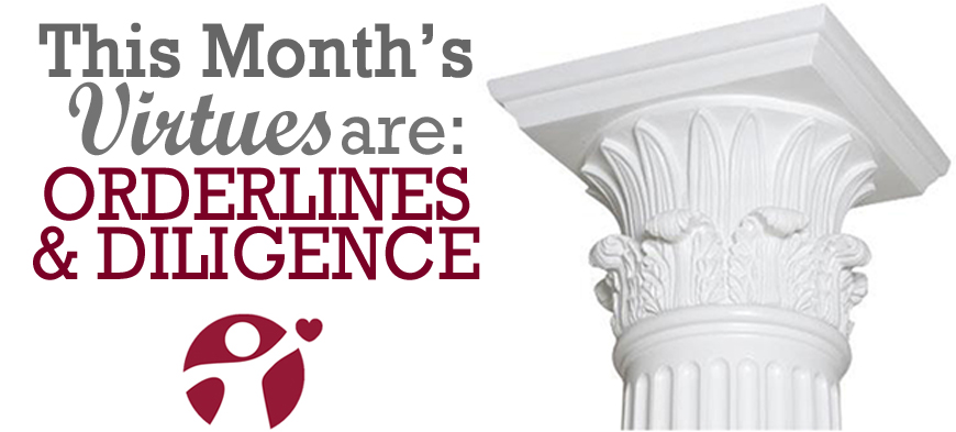 Virtue of the Month Orderliness and Diligence