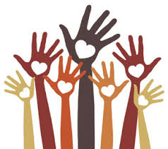 giving back hands
