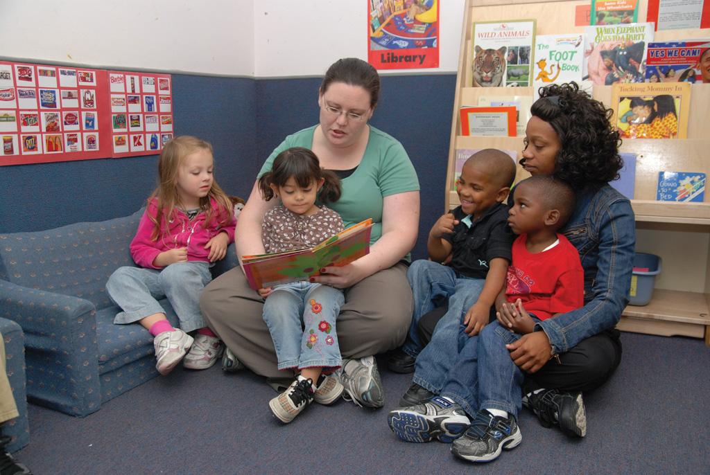 Ebenezer Child Care Downtown Center 3K room